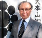 奥井海生堂社長で、敦賀商工会議所副会頭の奥井隆さん。「昆布は高級ワインと同じように、収穫する場所によって価値が大きく変わる。うちは北海道の利尻島と礼文島で採れた最高級の昆布を扱っています」