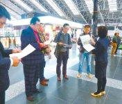 大阪、京都、神戸、大津、奈良、和歌山の6県庁所在地商工会議所では、関西国際空港を起点としたモデルコースを用意。点でも線でもない「面」としての地域の魅力をアピールし、誘客拡大を狙う。