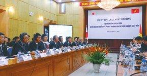活発な意見交換が行われた計画投資省との協議会