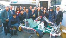 加藤製作所では、レーシングカートパーツなどを製作