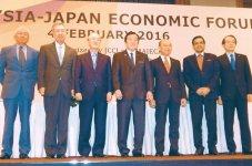日マ経済フォーラムには177人が参加