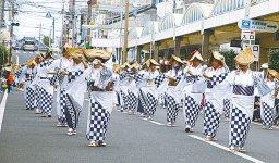 華やかな市民総踊り