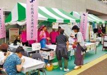 同所女性会が「名古屋コーチンうどん」を販売
