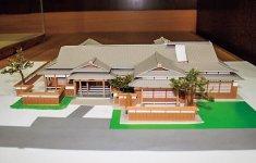市内の建築設計士による陣屋復元模型