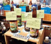 北アルプスブルワリーのクラフトビール各種