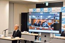 三村会頭らは平沢大臣らに被災地の復興・創生に向けた支援を要望