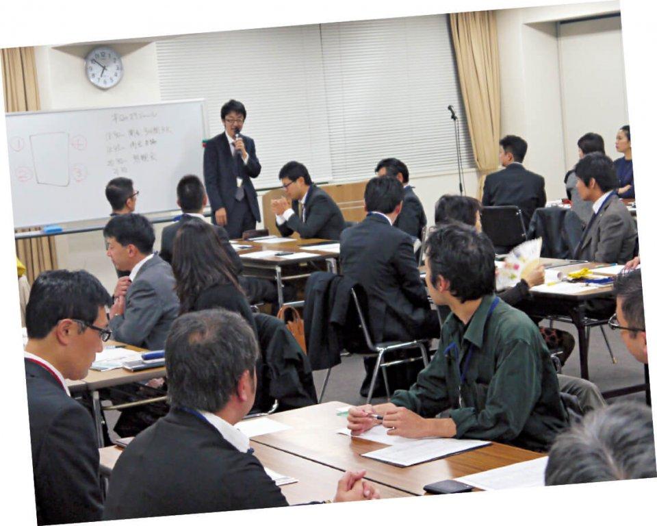 「福商ビジネス倶楽部」は、毎月、さまざまなテーマの勉強会・講演会・セミナーを実施