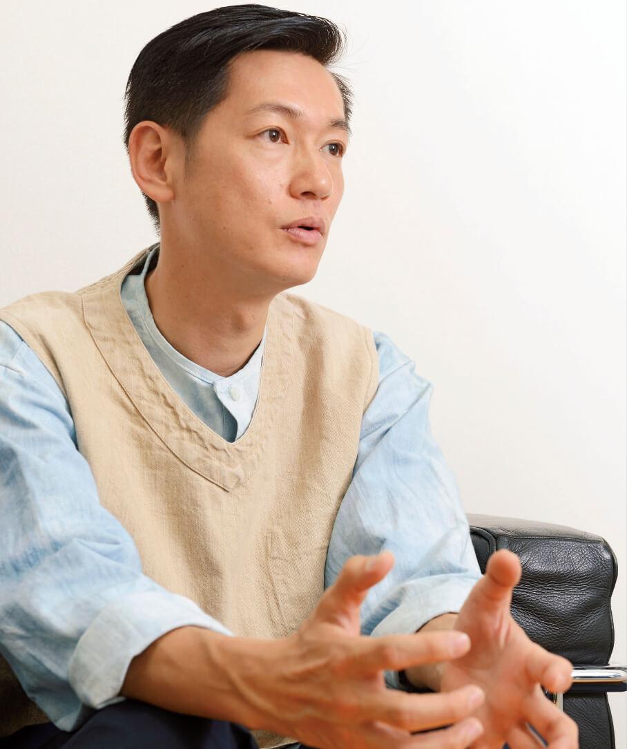 「作品の大小にかかわらず、どんな役にも挑みたい」と語る井浦さん。熱い役者魂は、言葉の端々から伝わってくる