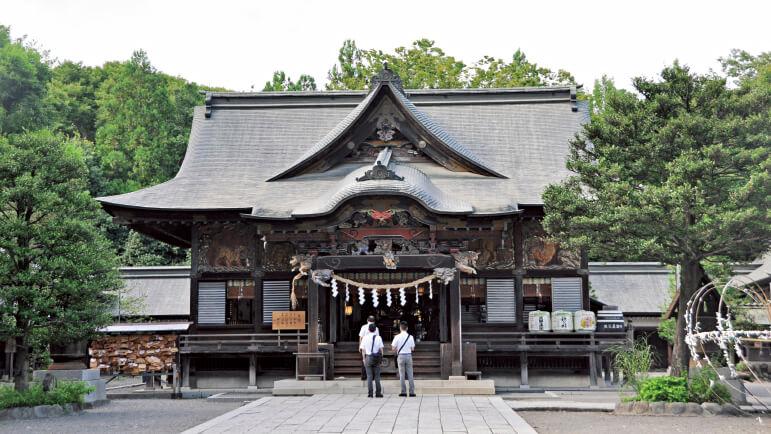 秩父三社の一つに数えられる秩父神社。2100 年という長い歴史を持ち、三峯神社、寳登山神社とともに秩父三社と呼ばれている