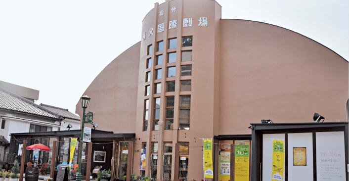 旧松竹秩父国際劇場は現在、イタリアンレストランとなっている