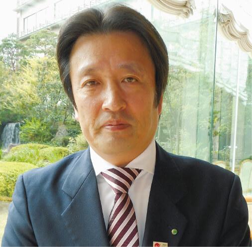 支配人の川島正人さん。顧客満足に直結する「従業員満足度日本一」を目標に、従業員の声をくみ取る施策を打っている