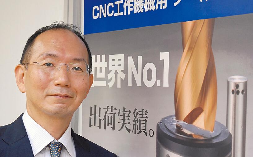 メトロール代表取締役社長松橋卓司さん。大手食品メーカー勤務を経て平成10年、父親が創業したメトロールへ入社。21年より現職