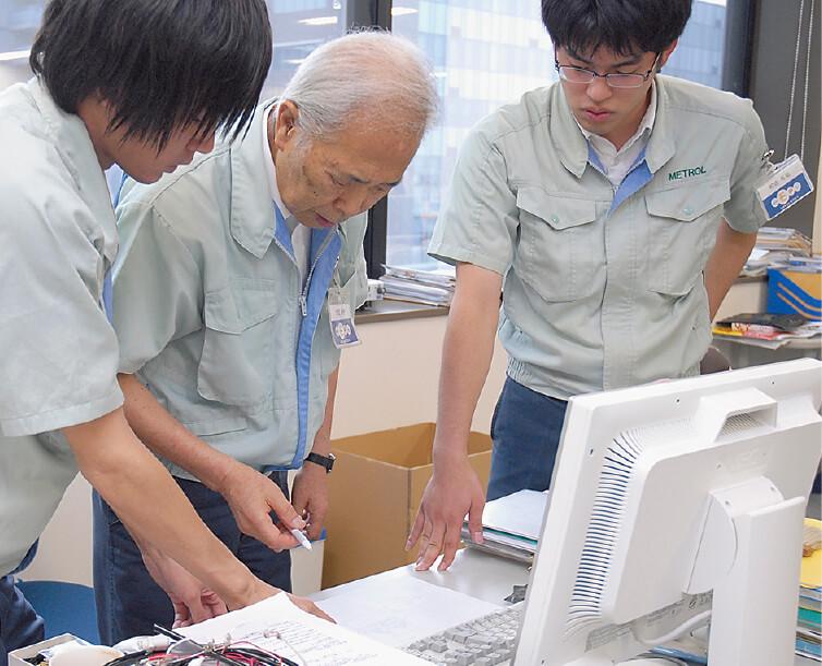 20代から80代まで、社員に年功序列の意識はなく、業務においては役職も関係ない。全員が当事者として何が会社のためになるかを自分で考え、責任を取るのが当たり前の社風