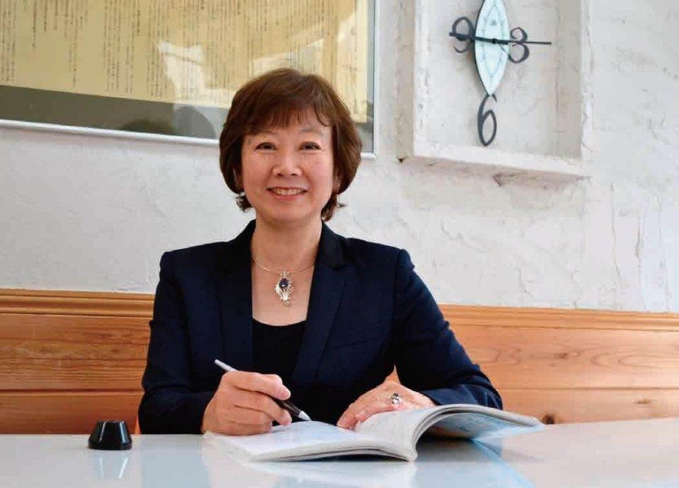 代表取締役の竹名裕子さん