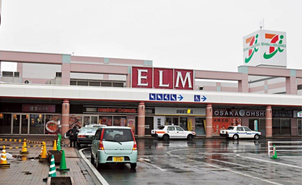 新商業界区「エルムの街」。五所川原市内だけでなく、青森市や弘前市からも買い物客がやってくる