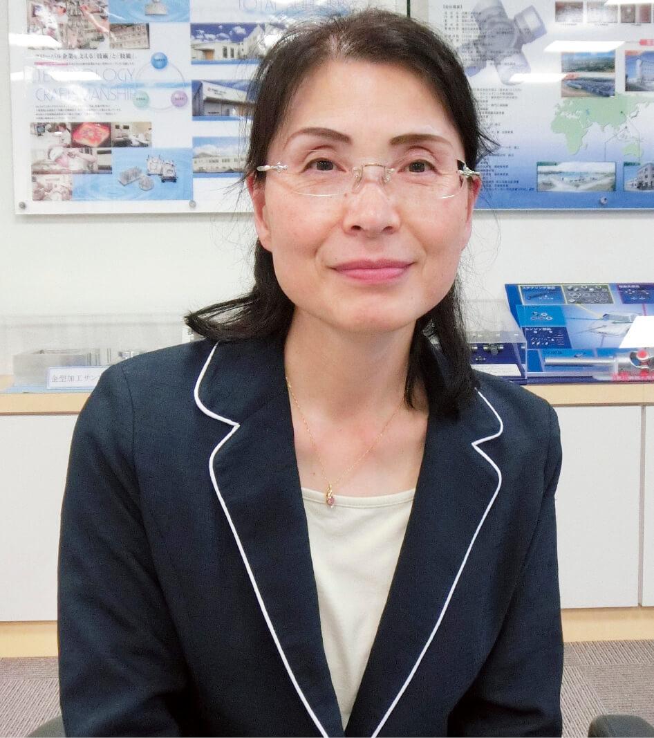 インターンシップの評価が高まり「新規の受け入れ企業も増えています」と中小企業相談所の加藤喜代美さん