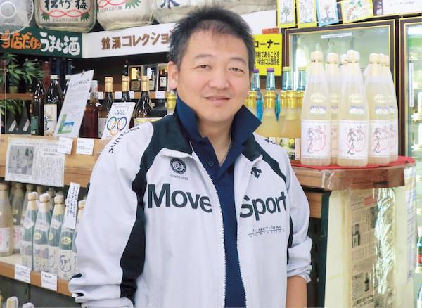 「常にお客さまの期待の先をいく店にしたい」とモットーを語る三代目の金子巌さん