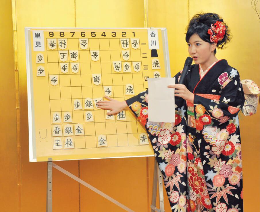 さまざまな挑戦をし、人として魅力的に輝きたいという香川さん。まずは女流王将の奪還が目標だ。だが、将棋普及のために対局の合間を縫ってイベントも精力的にこなしている