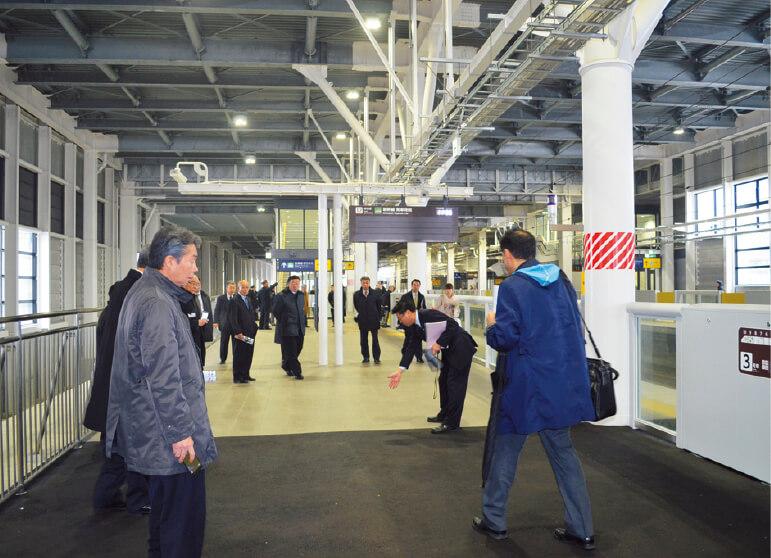 隣接する北斗市北部に新設された新函館北斗駅。函館駅とは快速列車により最短15分で結ばれる