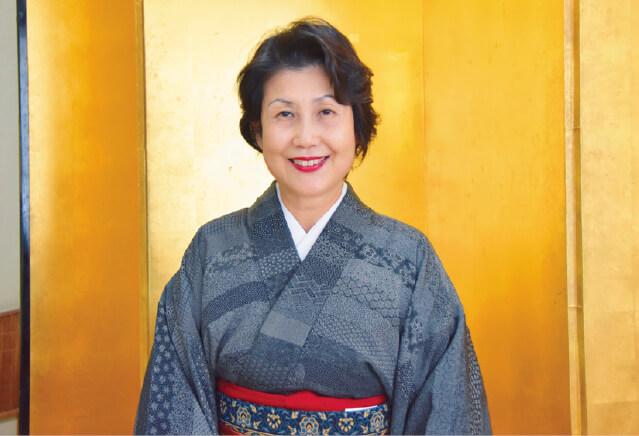 「一期一会を大切にしたい」と語る宝家・女将の鈴木まり子さん