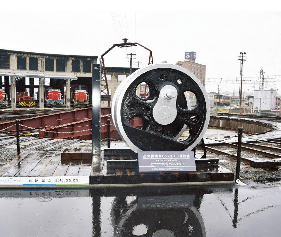 今年4月にオープンした「津山まなびの鉄道館」