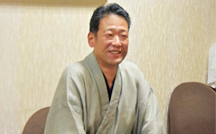 米沢繊維協議会の近藤哲夫会長