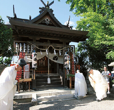 柳の宮神社:豊岡杞柳細工(柳行李)・鞄の神様を祭った神社