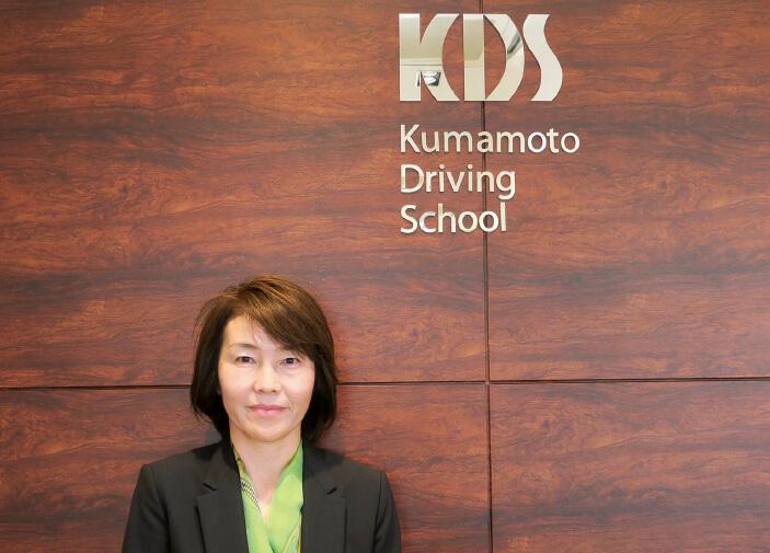 「社内の意識改革は、うまくいっていることが体感できないと継続が難しい。結果が出るまでに時間がかかりますね」と言うKDS社長の永田佳子さん
