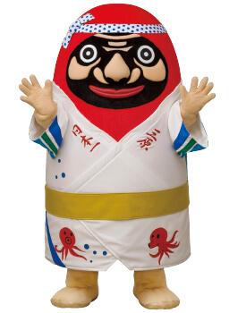 三原市公式マスコットキャラクター「やっさだるマン」
