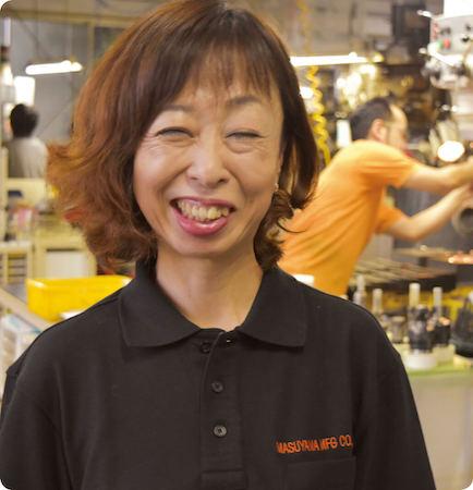 MASUYAMA-MFG株式会社 代表 益山 明子氏 所在地:鳥取市南栄町43番地 電話:0857-53-26226