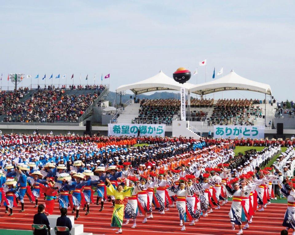 平成28年の「希望郷いわて国体・いわて大会」が大成功に終わり、次は31年の「ラグビーワールドカップ2019」が控える。谷村会長はスポーツ立県としての手応えを感じている