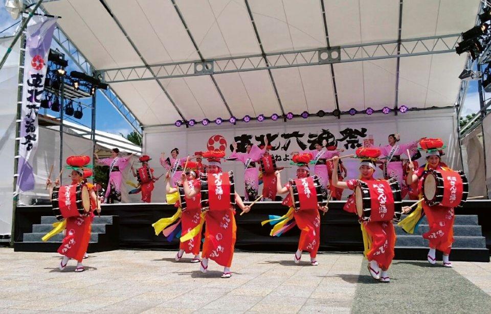 震災の年に始まった「東北六魂祭」は昨年の青森市開催で一巡した。今年から始まる後継の「東北絆まつり」で改めて「東北」を発信していく
