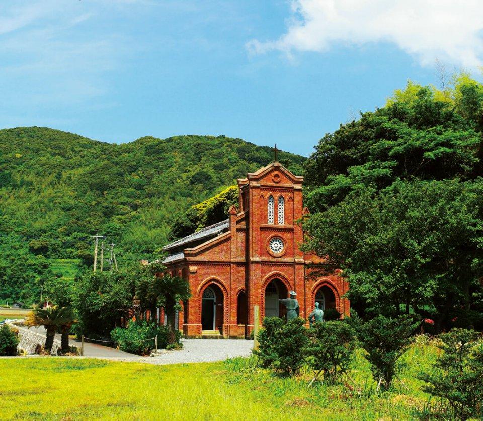 県指定有形文化財の「堂崎教会」