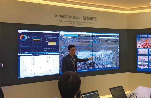 華為技術が世界の空港に納入している管制システム