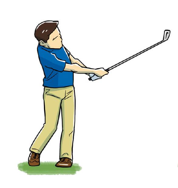 しかし、確実にボールを目標に運ぶためのショートアイアンは、力をコントロールする必要がある