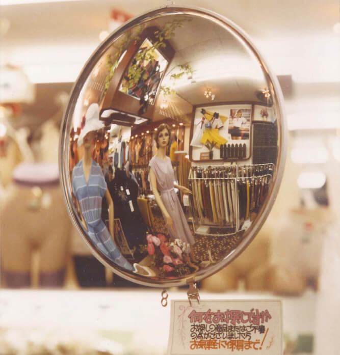 遊び心から店舗ディスプレー用として開発した「回転ミラックス」。同商品に対する思わぬ反響を機に鏡メーカーへ