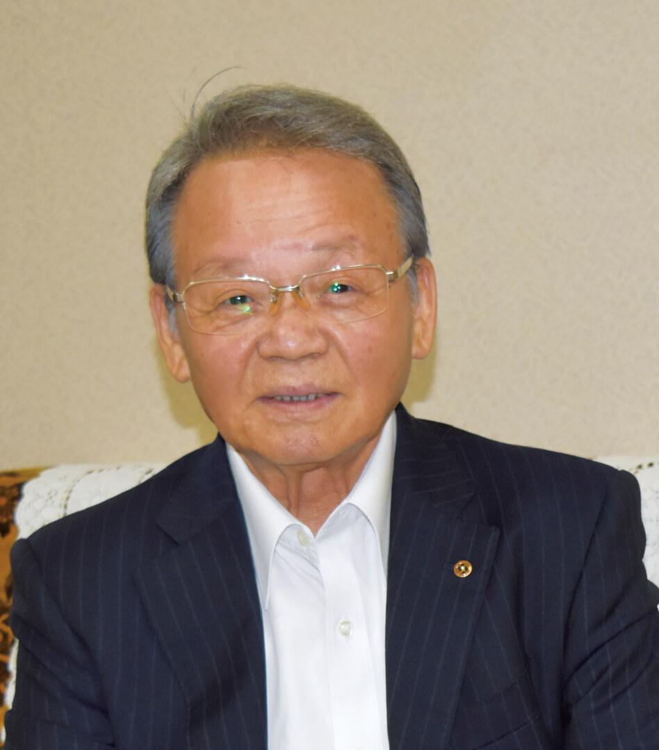 紋別商工会議所 会頭 片岡 一道 氏