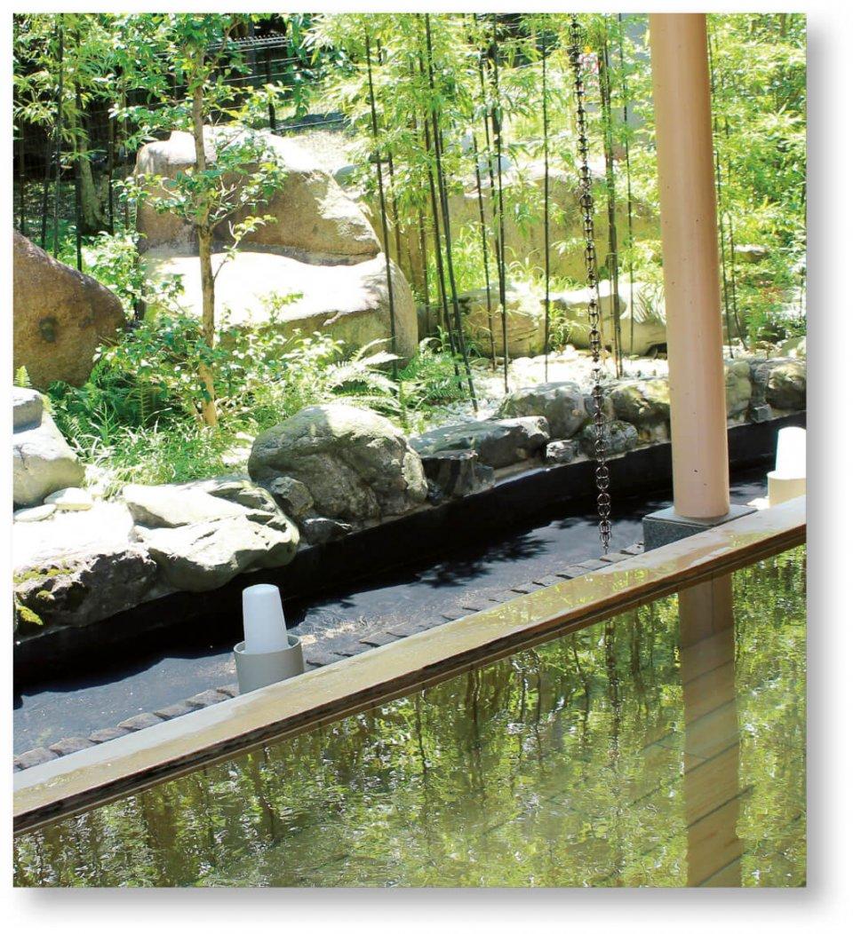 京の奥座敷「湯の花温泉」