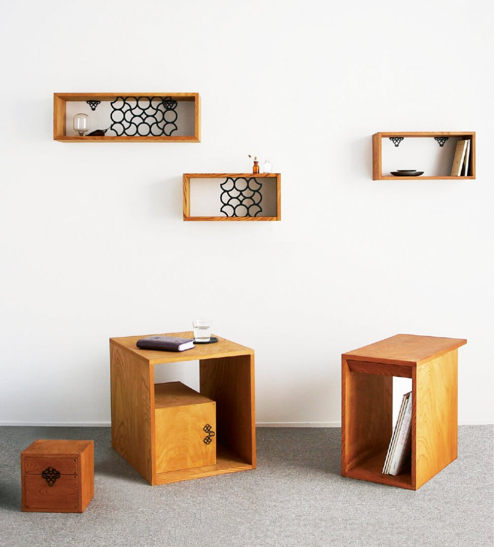 monmaya+の製品は、伝統技能を継承しながらも、現在の生活スタイルに合ったデザインとなっている