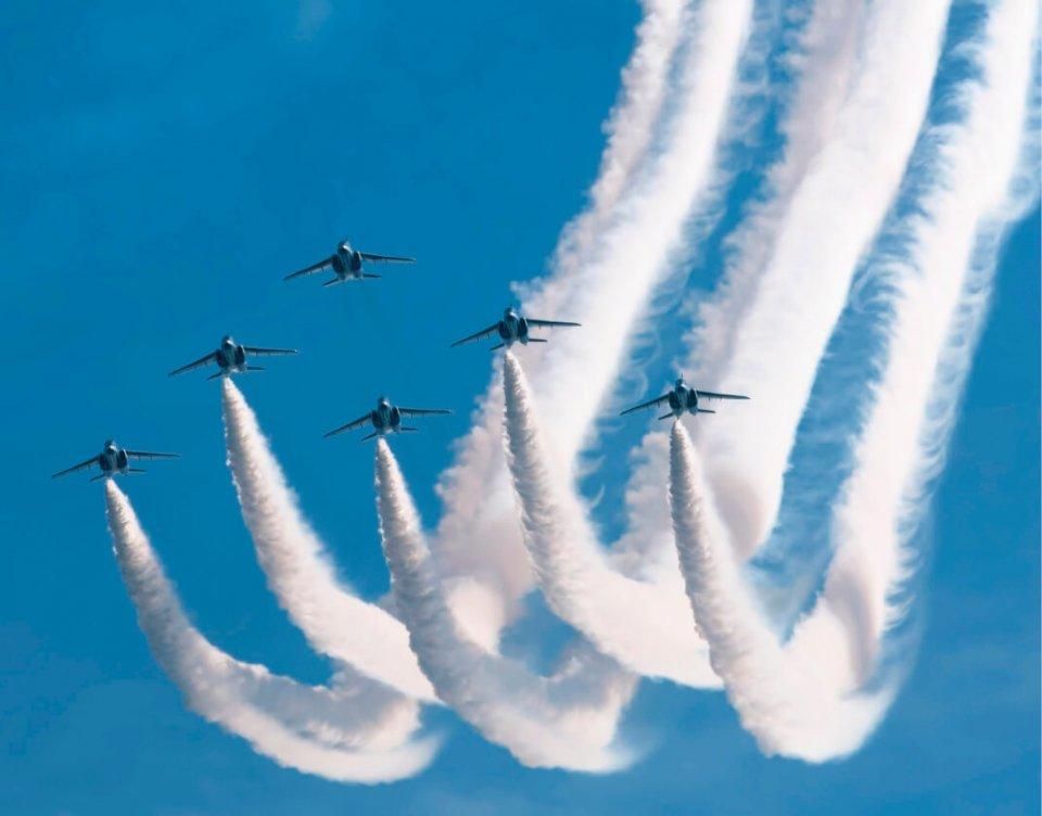 毎年開催している「小松基地航空祭」