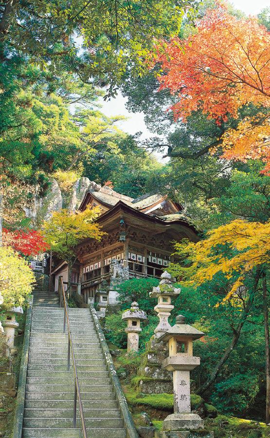 国の重要文化財「那谷寺(なたでら)」