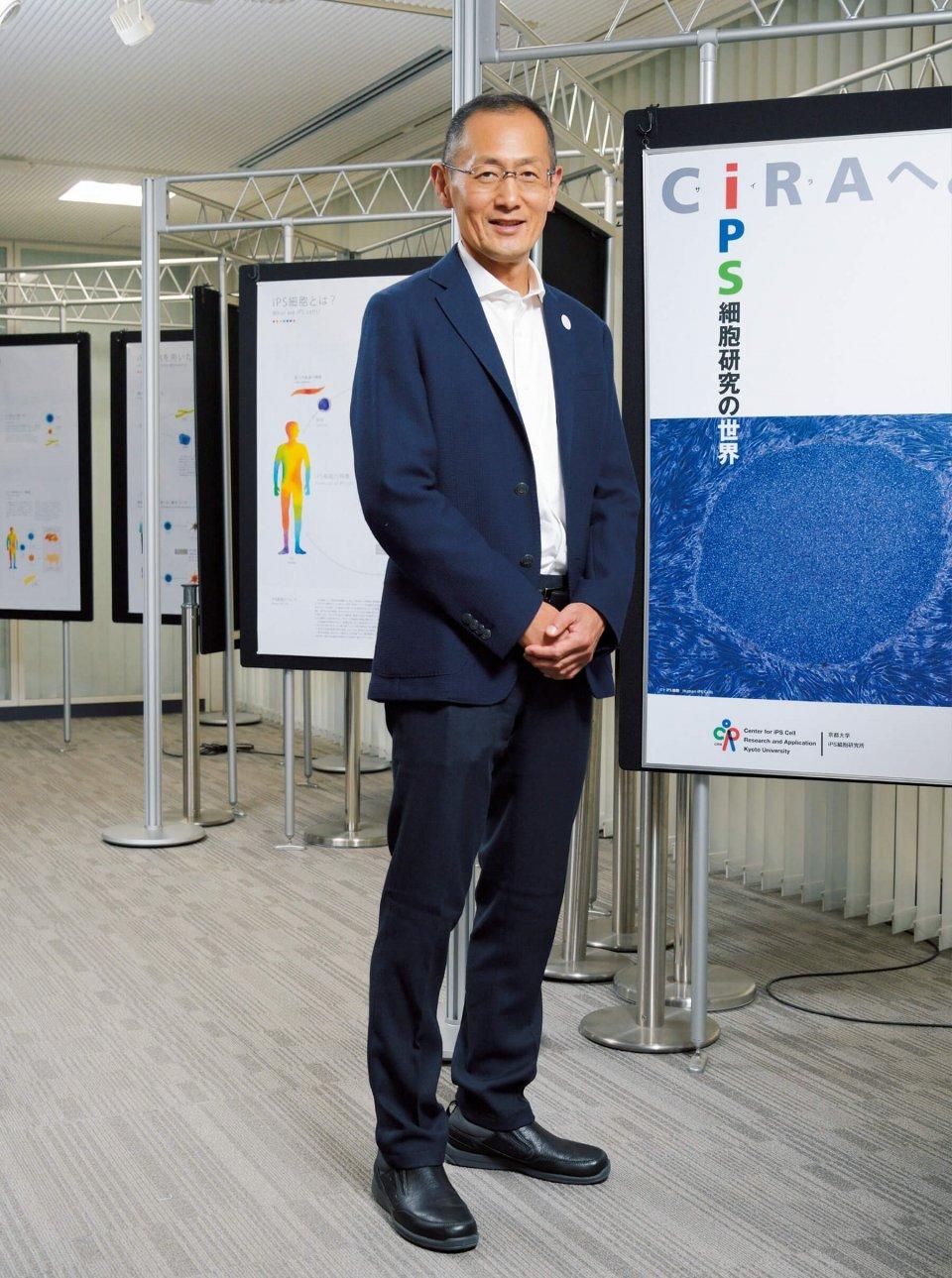 「大阪万博では、世界中の人々に50年先の医療の姿をお見せしたいですね」