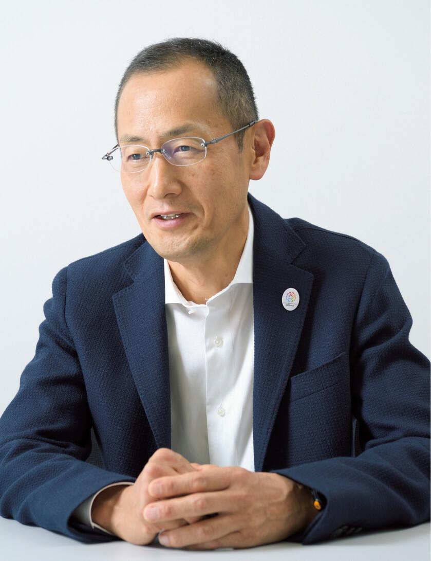 「大阪万博が50年先の日本を考えるきっかけになれば」という山中さん。誘致実現には企業の協力が不可欠と話す