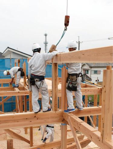 地元関西でいち早く「自然素材の家」に取り組んだパイオニア的存在。奈良県を中心に関西エリアで実績を伸ばす