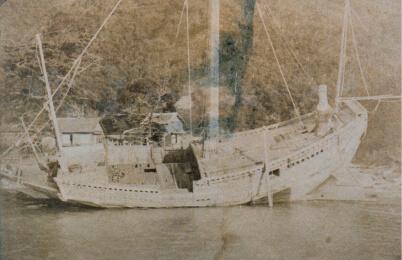 廻船業に使用していた千石船。当時は延岡に港も所有していたという