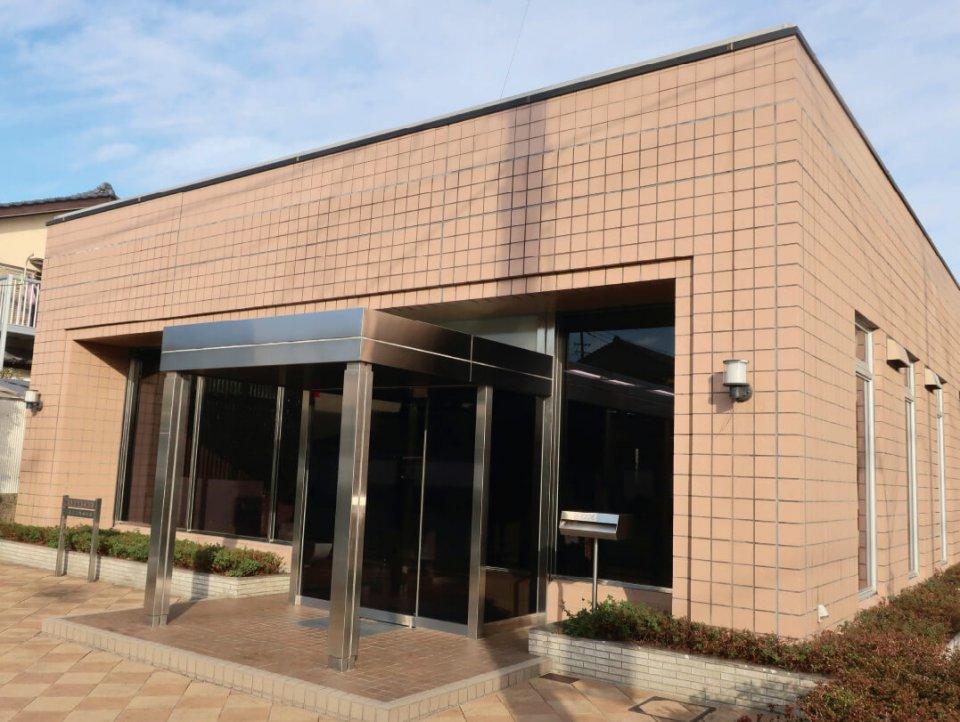 藤仲興産の社屋。これまでに多くの所有地を市や公共団体に寄贈している
