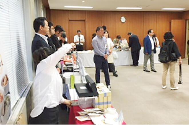 「伊達な商談会」に参加、仙台をはじめ各地のバイヤーに「青豆のドラジェ」をアピールした
