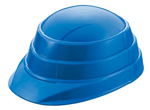 折り畳んだ状態で頭にかぶり、帽体の左右をつかんで下に引き、後部のヘッドバンドとあごひもを調節すればOK。一連の動作が短時間で完了する。5000円(税別)