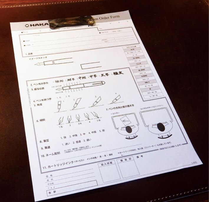 同社オリジナルの「書き癖診断カルテ」