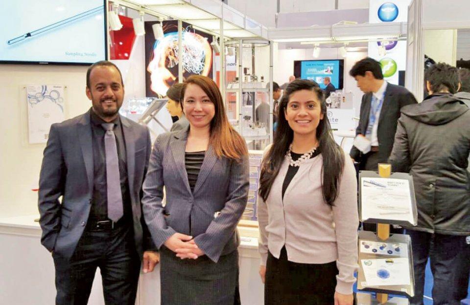 海外の展示会には積極的に参加し、ドイツの医療機器技術・部品見本市「COMPAMED」への出展も7年目を迎える。知名度アップ、海外顧客の獲得に展示会は有力だという